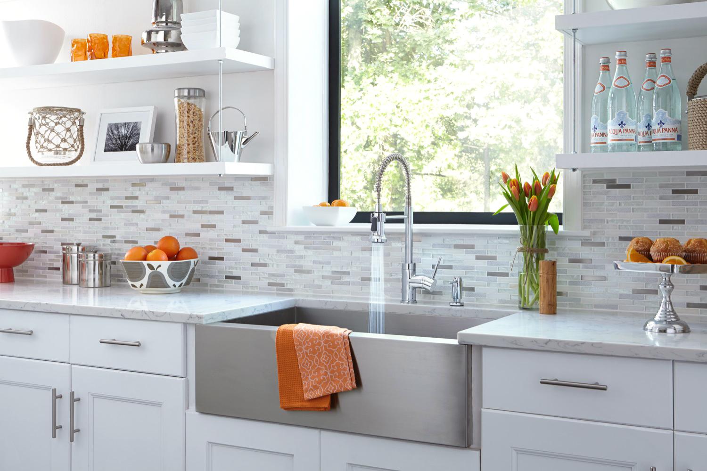 - Kitchen Sink With Backsplash - Furniture Photography Studio, Video