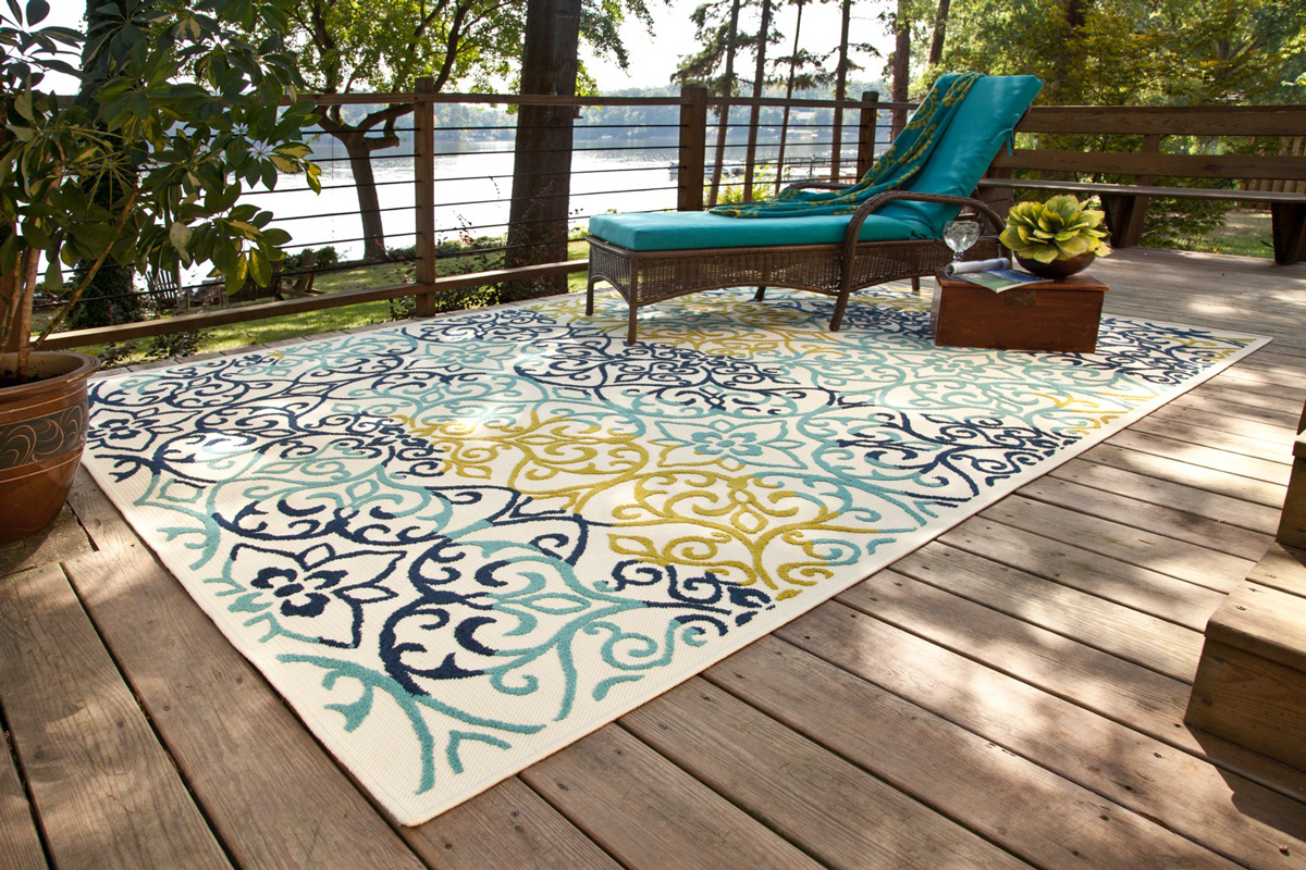 Outdoor Rug At Lake Furniture Photography Studio Video
