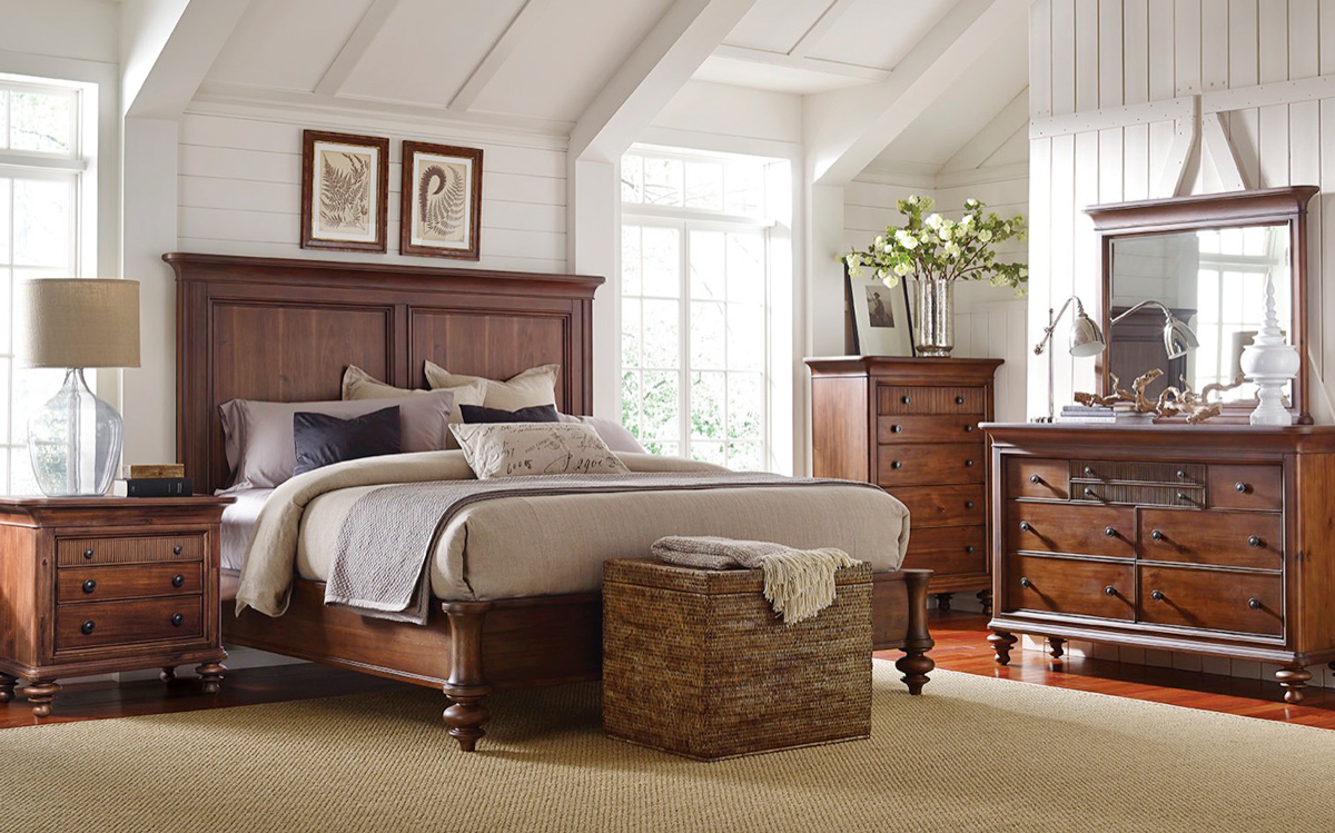 Solid Bedroom Furniture Room Set
