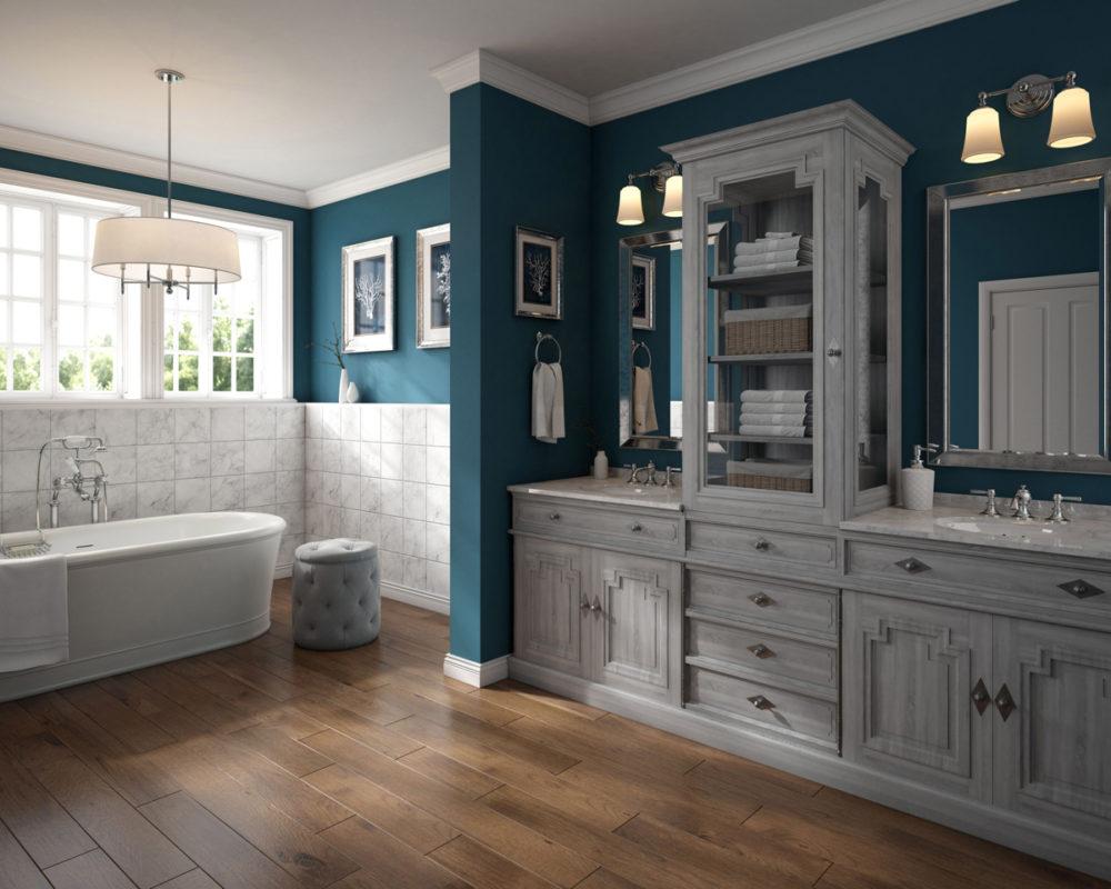 CGI Bathroom Cabinet Room Scene