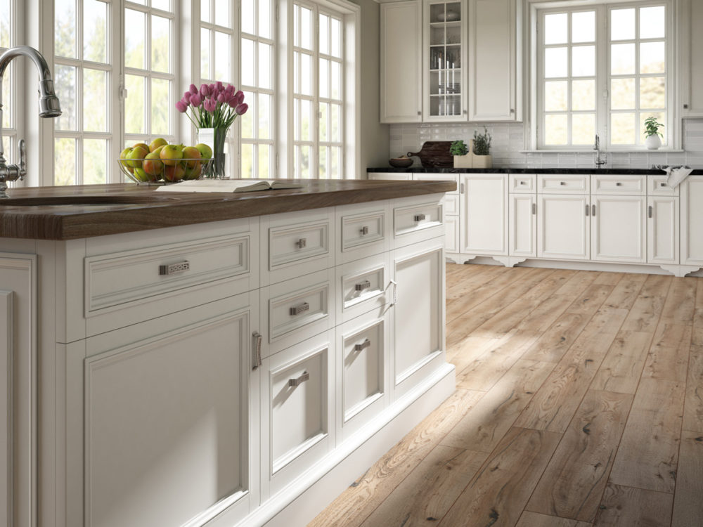 CGI Kitchen Featuring Wood Floor