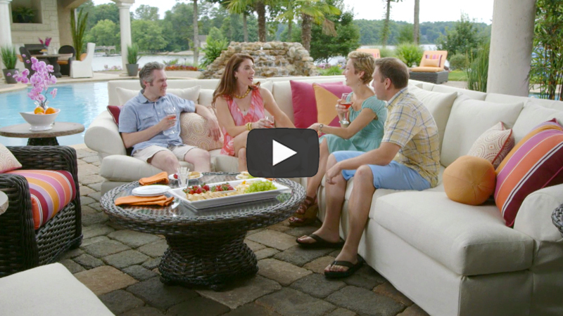 LANE VENTURE Outdoor Furniture Video