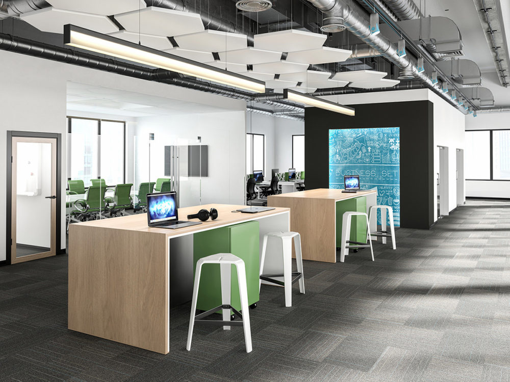CGI Contemporary Business Workspace