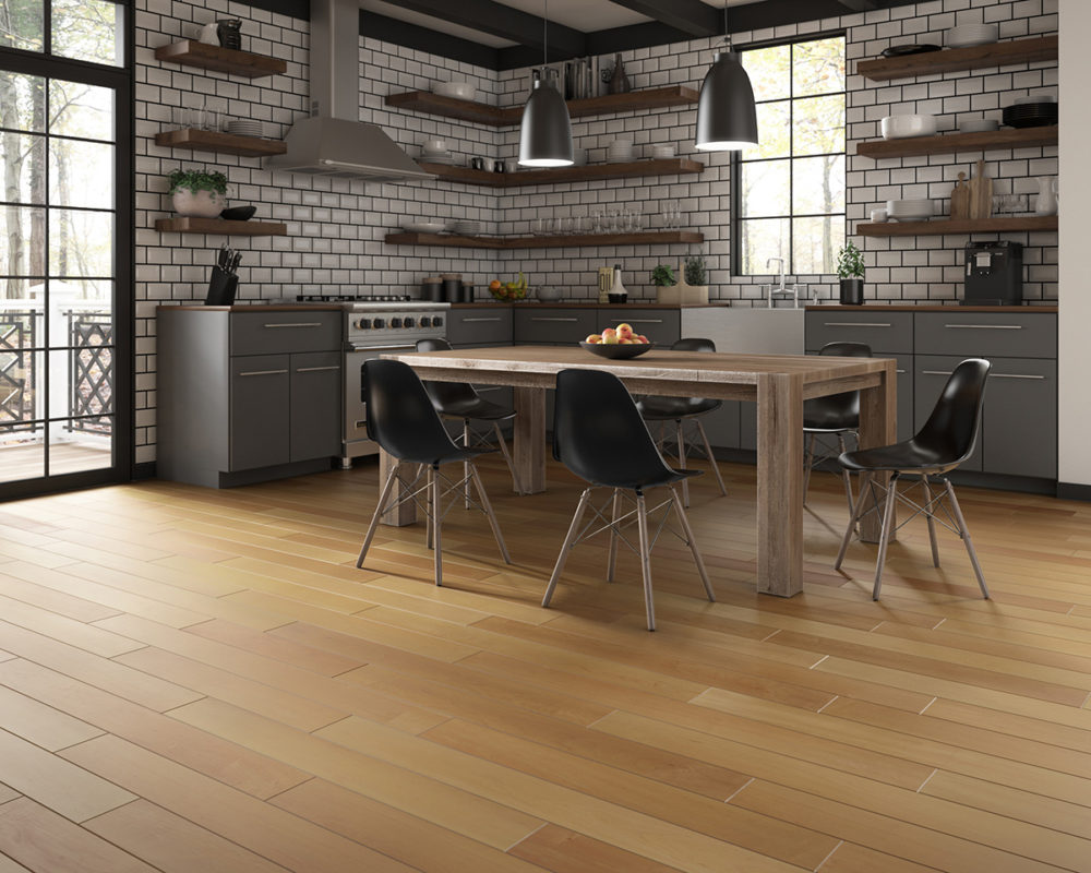 CGI Earthy Modern Kitchen