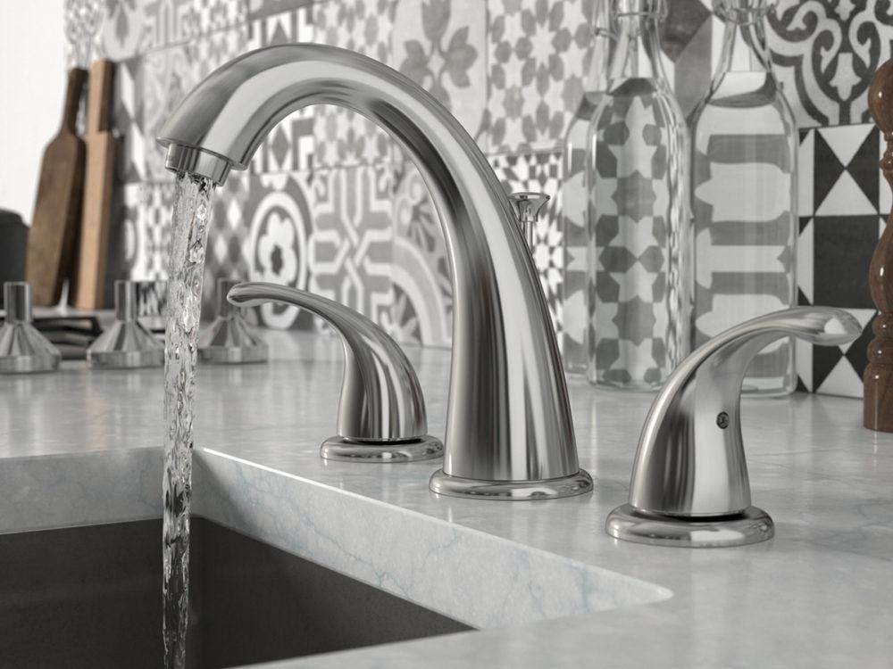 CGI Bathroom Faucet Photo