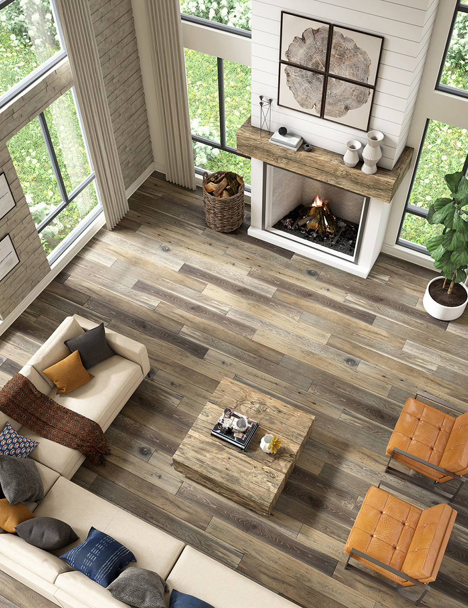 CGI Rustic Wood Floor