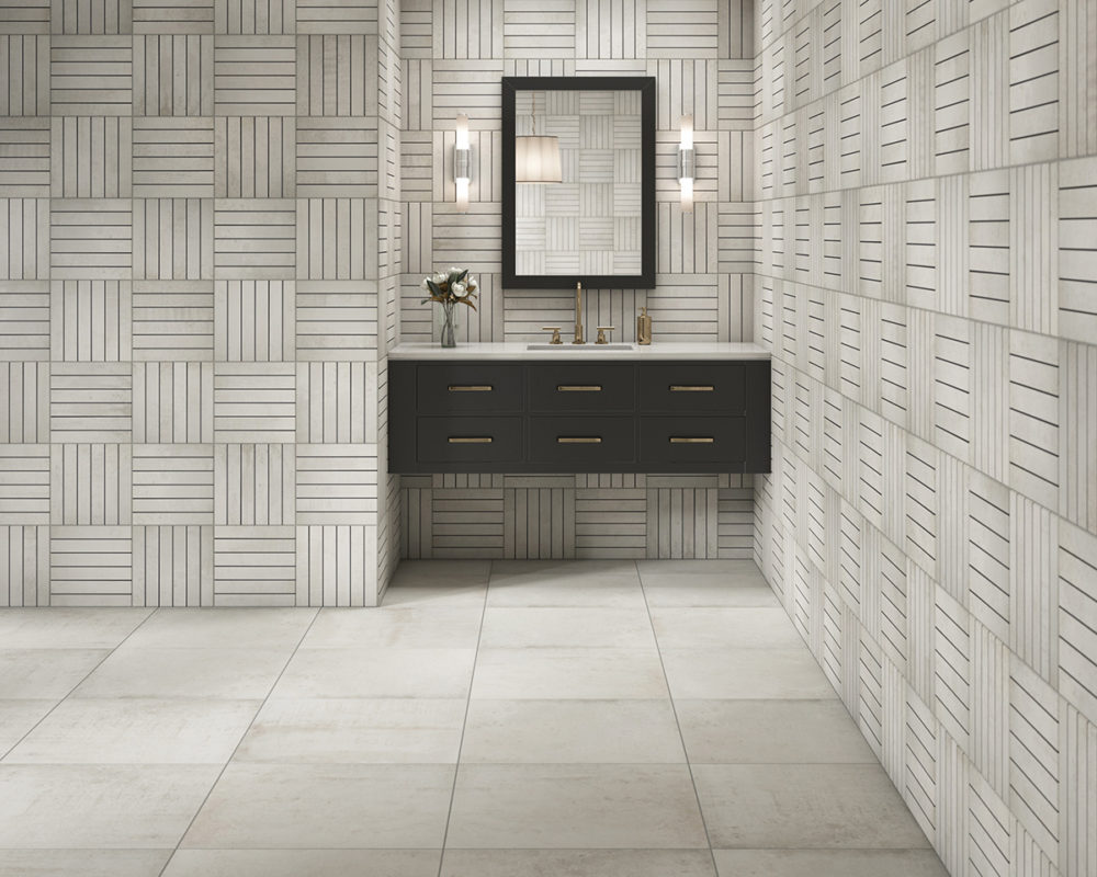 CGI Contemporary Bathroom Tile