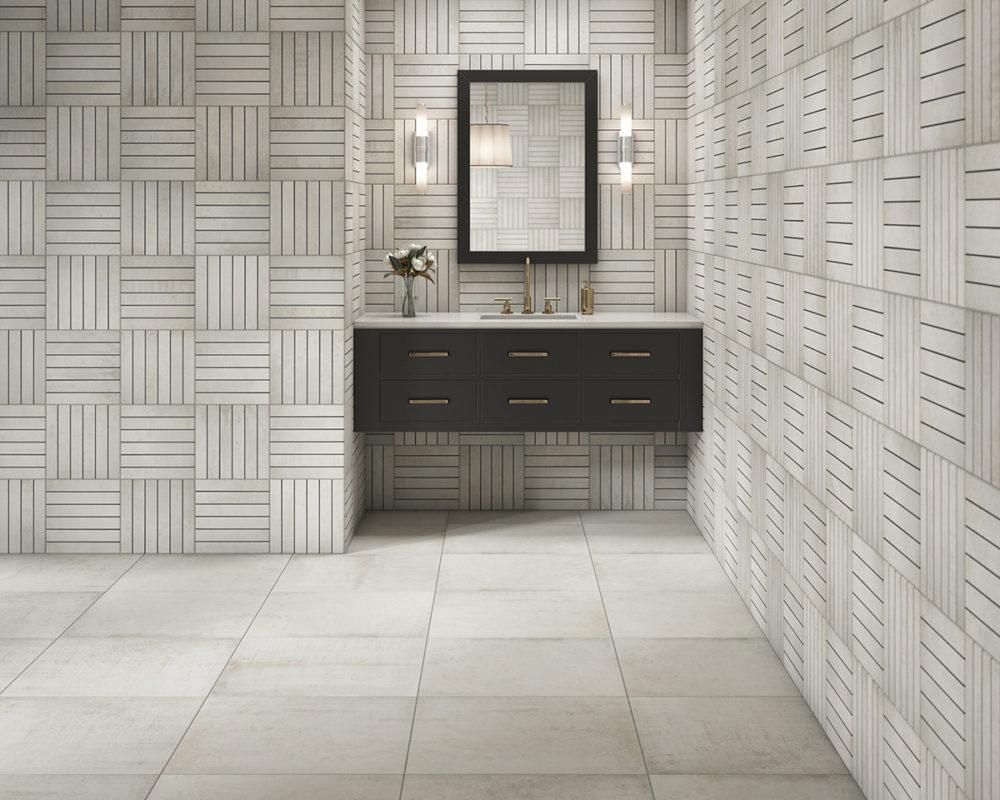 CGI Contemporary Bathroom Tile