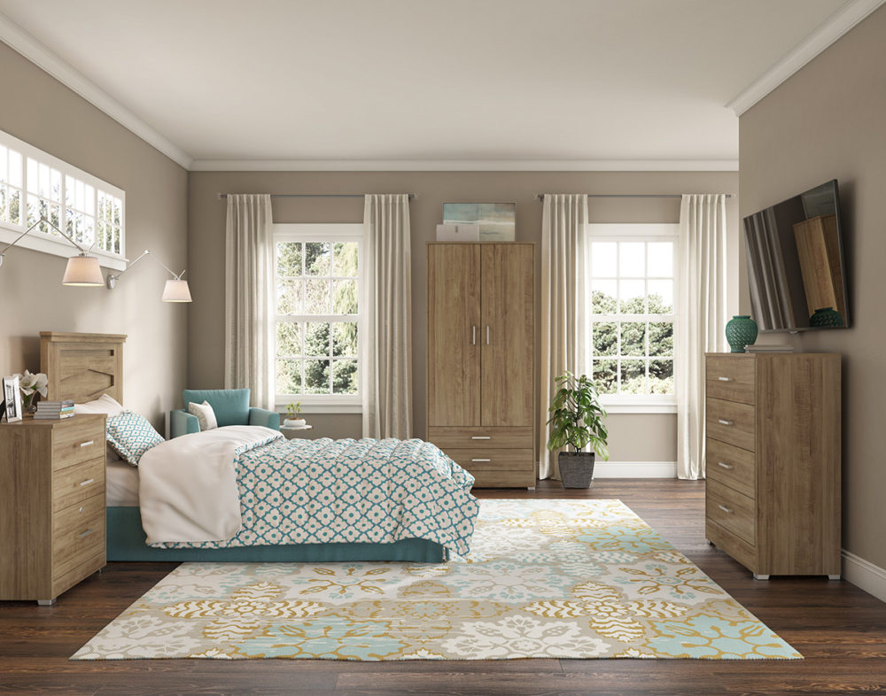 Bedroom Furniture CGI Room Scene